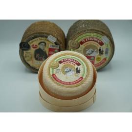 1 queso cremoso + 1 queso semicurado + 1 queso curado