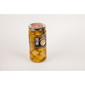 Queso en aceite de oliva - Tarro mediano