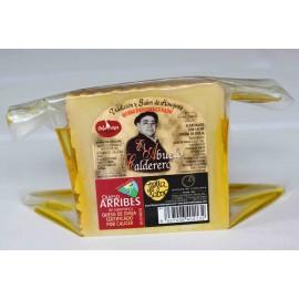 Queso  en aceite de oliva - 1/4 de queso grande El abuelo calderero. 0,600 kg aprox