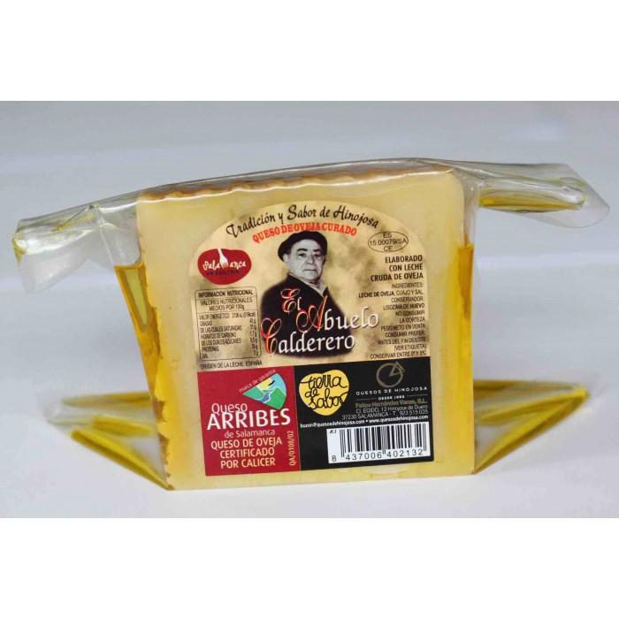 Queso  en aceite de oliva - 1/4 de queso grande El abuelo calderero