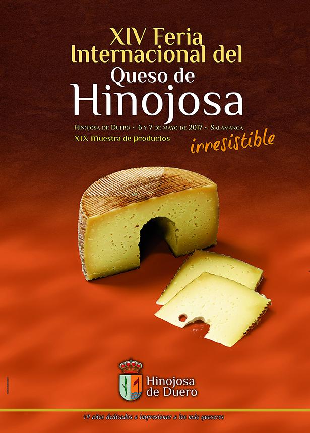 cartel feria queso hinojosa