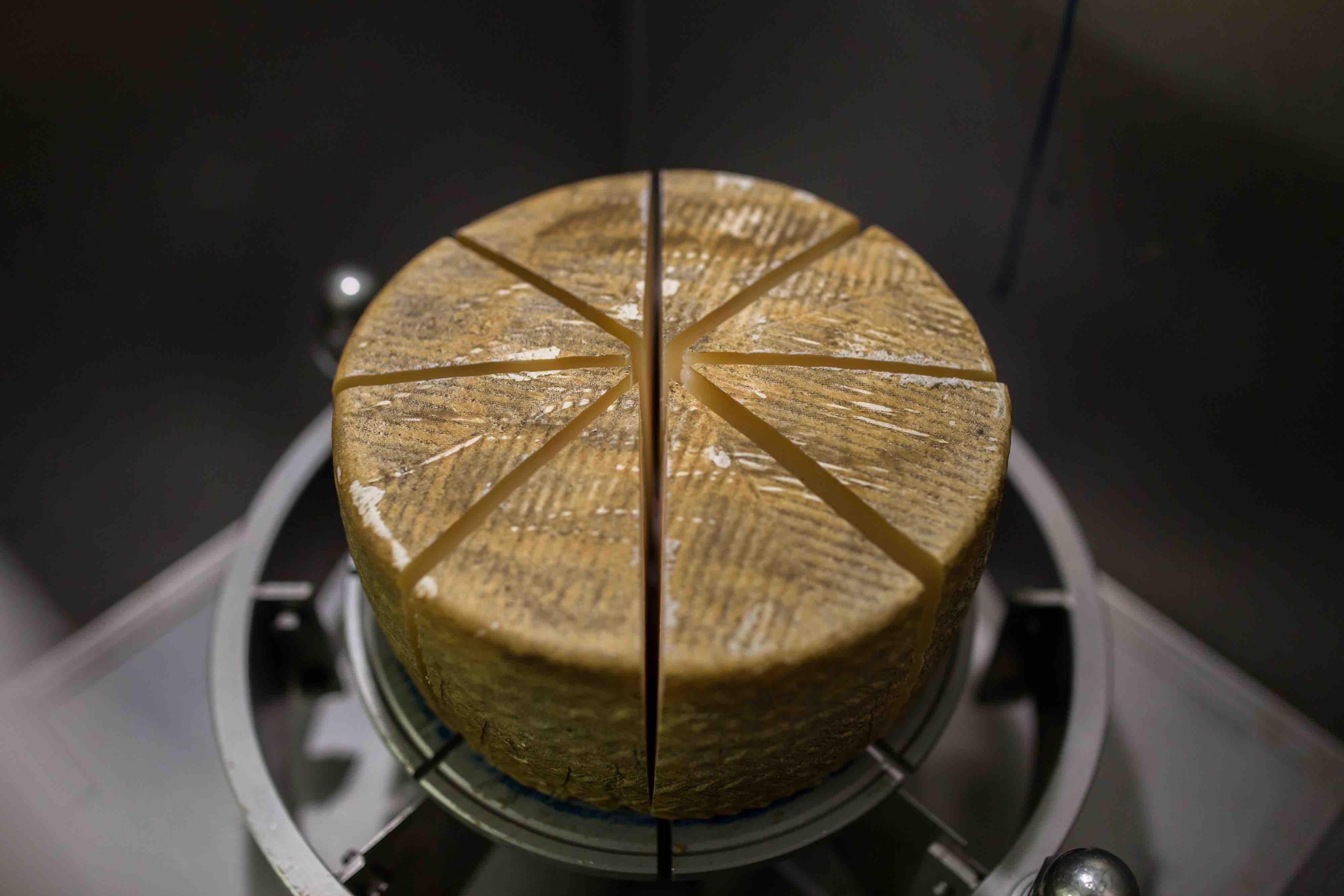 Envasado al vacío del queso