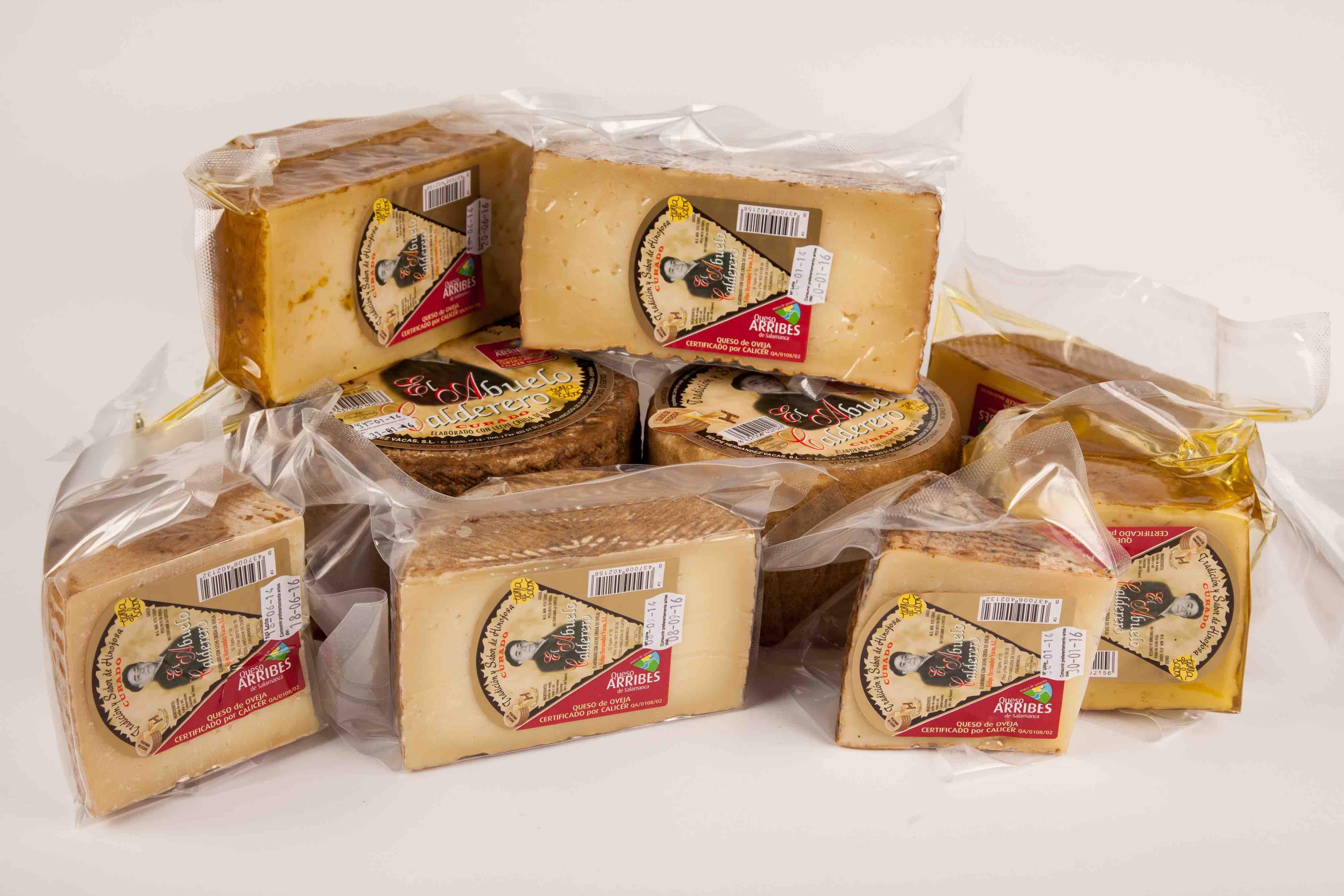 Envasado del queso